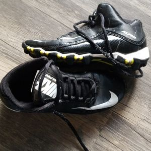 Nike Alpha football cleats size 3 youth